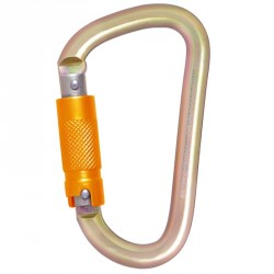 Steel Triple-Locking Karabiner - FA 50 301 23