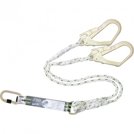 Double lanyard with energy absorber - FA 30 200 15