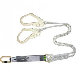 Double lanyard with energy absorber - FA 30 600 15
