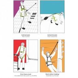 Full body harnais - FA 10 110 00