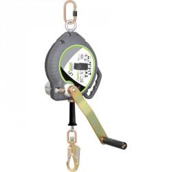 Câble antichute à rappel automatique avec treuil de sauvetage intégré 20m - FA 20 401 20