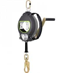 Cable antichute à rappel automatique avec treuil de sauvetage 30m - FA 20 401 30