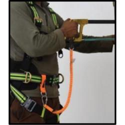 Longe élastique pour connexion outils