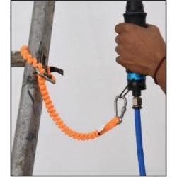 Longe élastique pour connexion outils avec connecteurs intégrés - TS 90 001 06