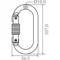 Karabiner - FA 50 101 17