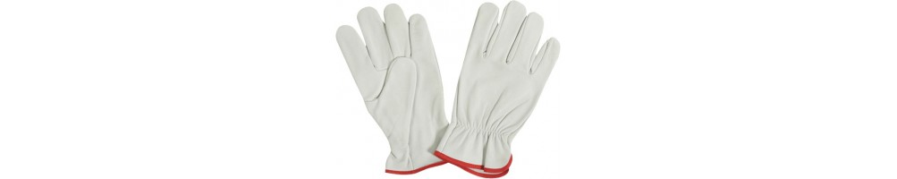 Leather gloves A3 SAFE